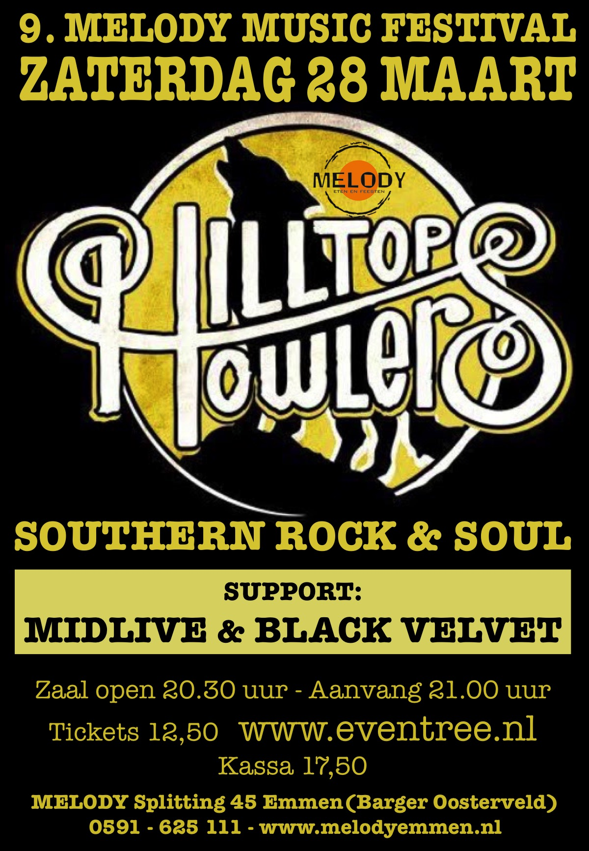 9. Melody Music Festival - HILLTOP HOWLERS