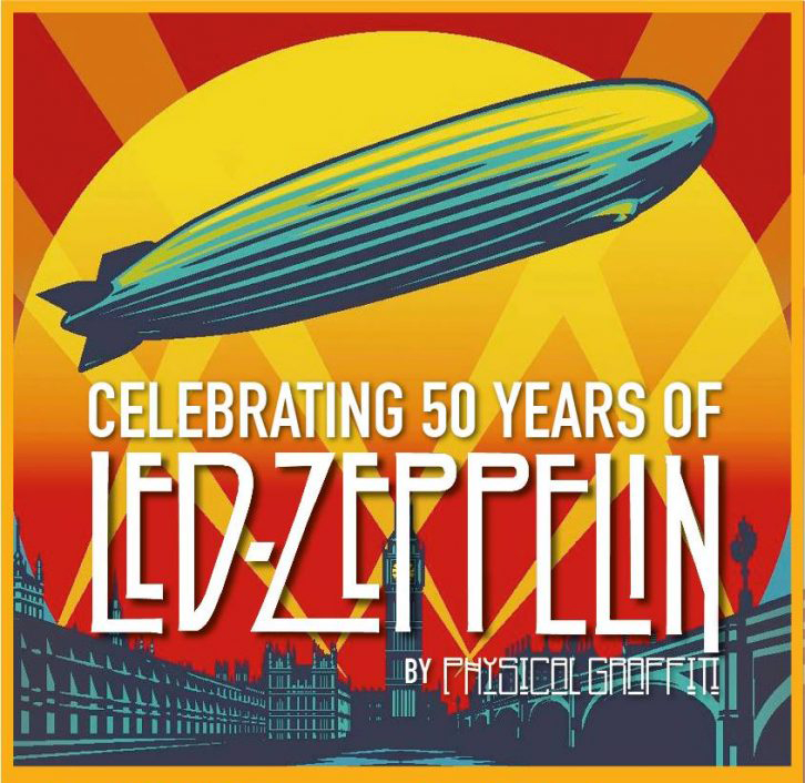 50 Years of LED ZEPPELIN by Physical Graffiti