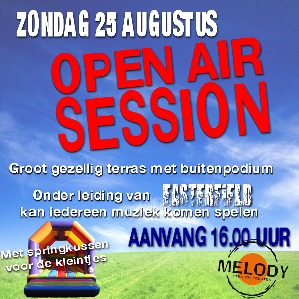 Open Air Sessie