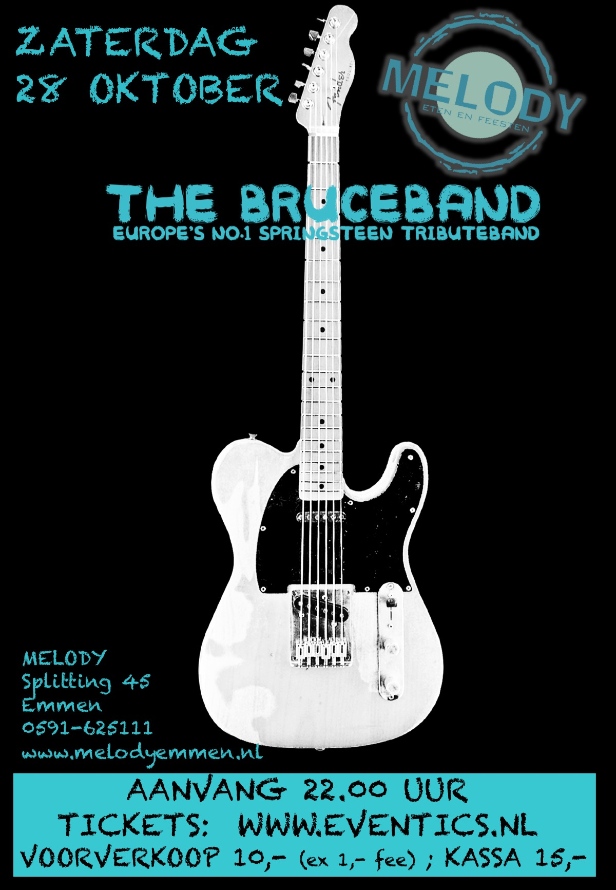 Bruceband - Europe's nr. 1 Springsteen Tribute
